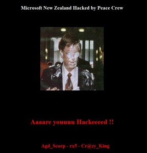 MSN NZ Hacked